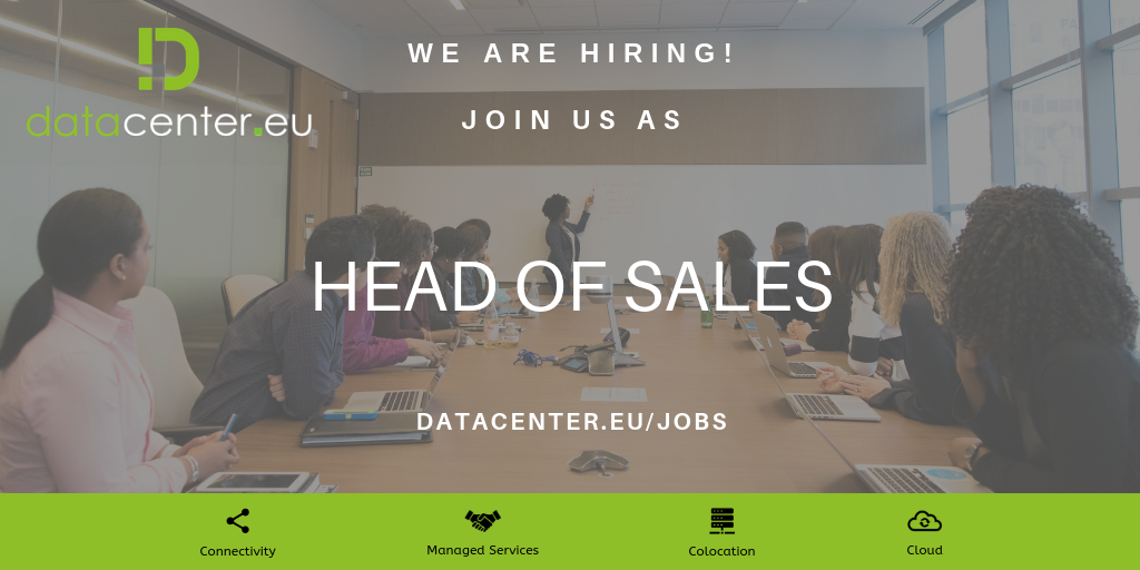 Head of Sales - Job Opening | Datacenter Luxembourg